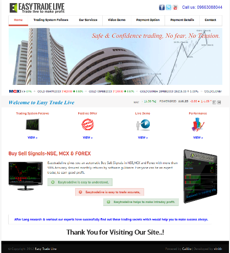 2. Live FOREX Trading Room.